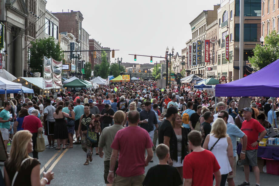 Were you Seen at the 11th Annual Schenectady County SummerNight with musical guest The Gin Blossoms in downtown Schenectady on Friday, July 15, 2016? Photo: Doug Liebig