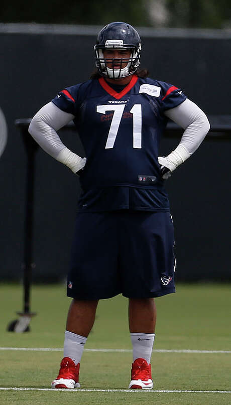 Offensive lineman Xavier Su'a-Filo has made improvements this offseason on and off the field preparing for the 2016 season, when the Texans will look to compete for another division title. Photo: Karen Warren, Staff / © 2016 Houston Chronicle