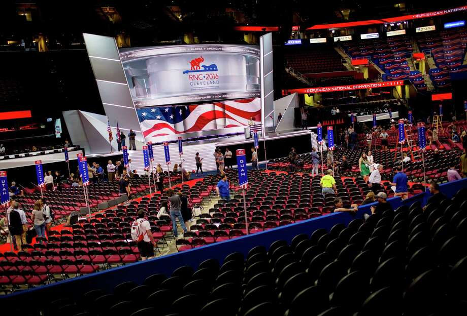 Soap opera actors, a golfer and a mixed martial arts group official are scheduled to speak at the Republican National Convention. Among those skipping the event are the last three GOP presidential candidates.  Photo: ERIC THAYER, STR / NYTNS