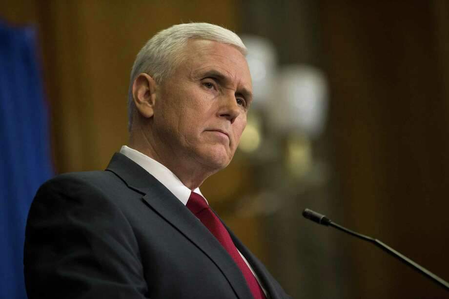 Since his election in 2012, Indiana Gov. Mike Pence has signed anti-abortion measures every year he has been in office.  Photo: Aaron P. Bernstein, Stringer / 2015 Getty Images