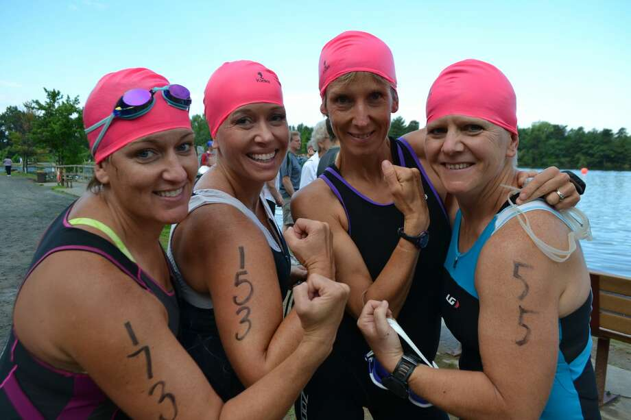 Were you seen at the YMCA's 2016 Pine Bush Triathlon in Albany and Guilderland on Sunday, July 17, 2016? Photo: Daniel Roberts