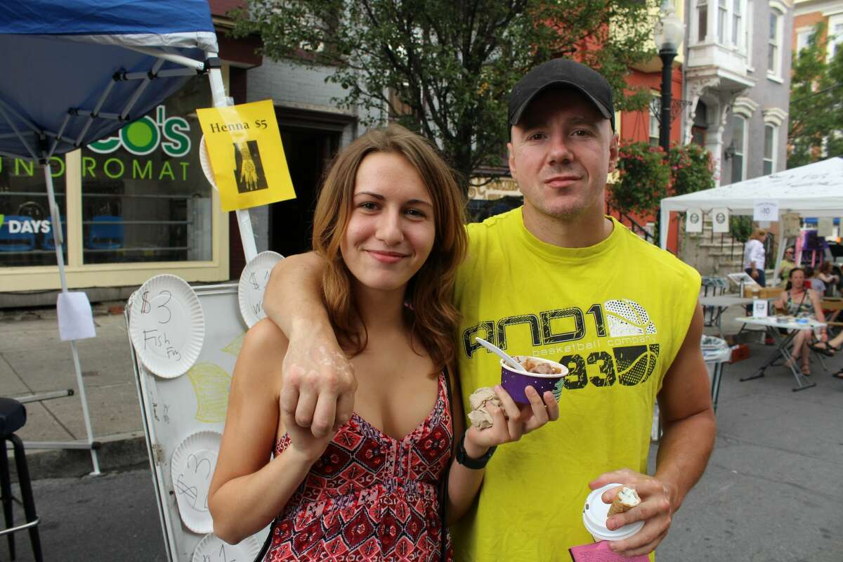 Were you Seen at the annual Art on Lark street festival on Lark Street in Albany on Saturday, July 16, 2016?