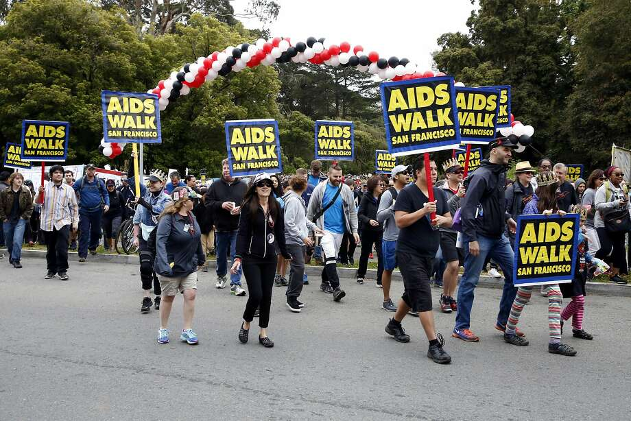 Thousands attended the 30th annual AIDS Walk San Francisco at Golden Gate Park in San Francisco, California, on Sunday, July 17, 2016. Photo: Connor Radnovich, The Chronicle