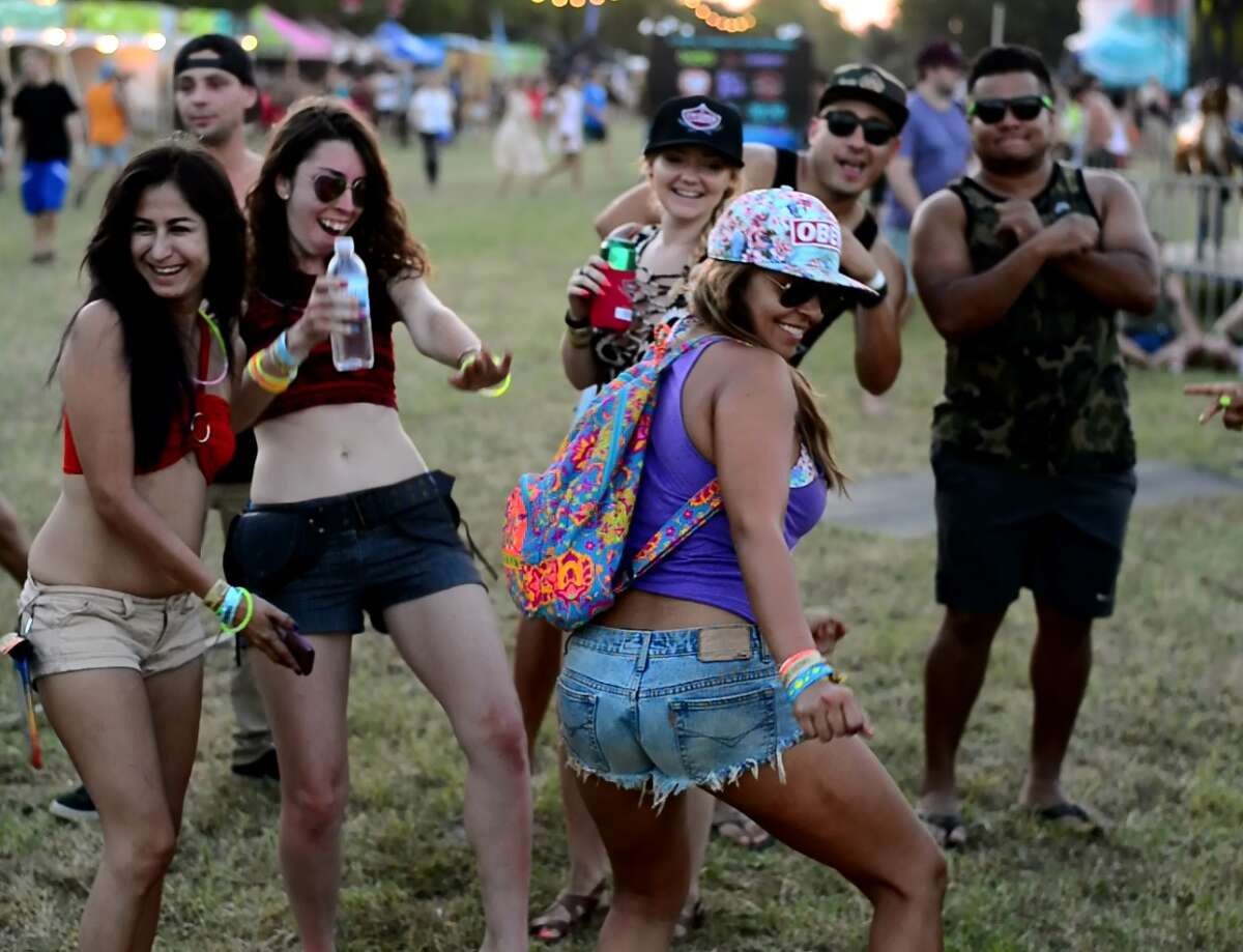 More than 10,000 party goers packed the annual Float Fest at the 220-acre Cool River Ranch along the San Marcos River between July 16-17, 2016.