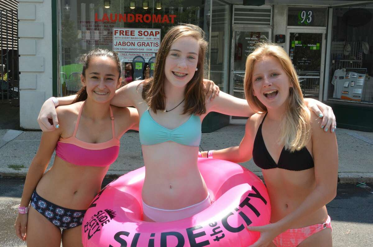 Prospect Street in Stamford was transformed into a waterpark on July 17, 2016 when Slide the City took over. Ticket holders slid down a 1,000-foot water slide, enjoyed live music, beach volleyball, a rock climbing wall and more. Were you SEEN?