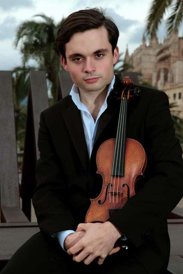 Francisco Fullana, Spanish violinist, taught in the 2016 COSA Music Institute. Photo: Jozef Szafranski / Courtesy, Chamber Orchestra Of San Antonio / Jozef Szafranski