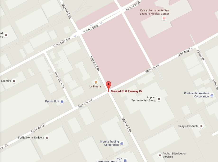 Kaiser San Leandro Campus Map.Burst Pipe Closes Downtown San Leandro Intersection Sfgate