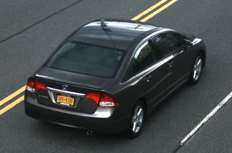 Colonie police now seek help searching for a grey 2010 Honda Civic 4Dr bearing NYS Registration GKV8188 that was allegedly stolen Sunday, July 17, 2016. Any one with tips is asked to call the Colonie Police Department at 783-2744. (Photo: Colonie Police).
