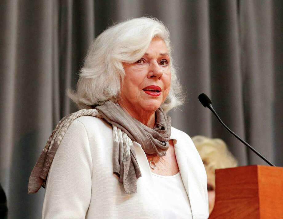 FILE - In this March 25, 2015 file photo, Bonnie Brown, speaks about being elected into the Country Music Hall of Fame in Nashville, Tenn. Brown, one of three siblings whose smooth harmonies as the Browns influenced generations of singers from the Beatles to Lady Antebellum, died Saturday, July 16, 2016, of complications from lung cancer, her publicist said. She was 78. (AP Photo/Mark Humphrey, File) Photo: Mark Humphrey, STF / Copyright 2016 The Associated Press. All rights reserved. This material may not be published, broadcast, rewritten or redistribu