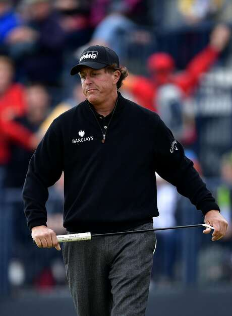 Golfer Phil Mickelson escaped insider trading charges but forfeited $1 million to the government in profits and interest. Photo: Stuart Franklin, Getty Images