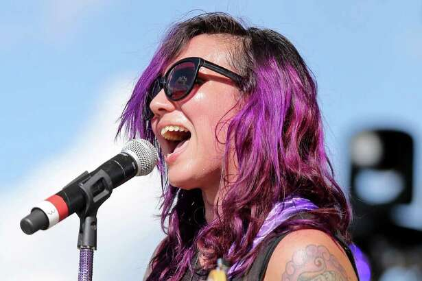 Nina Diaz performs during Float Fest held at Cool River Ranch Sunday July 17, 2016 in Martindale, Tx.