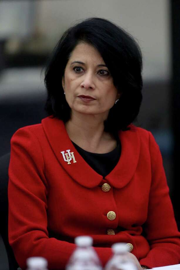 Name: Renu KhatorSchool: University of Houston Total compensation: $1,300,000 Photo: Gary Coronado, Staff / © 2015 Houston Chronicle