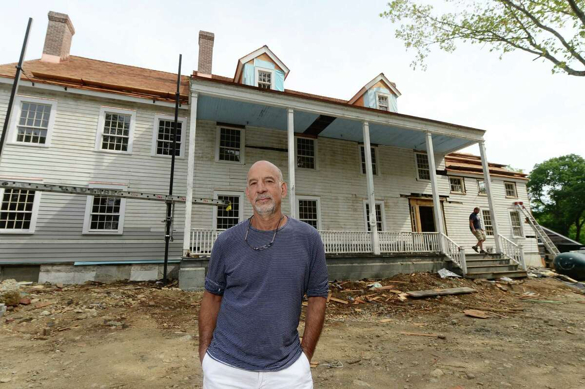 Glazer Group developer Andy Glazer, at the former Silvermine Inn and Tavern site Perry Ave. in Norwalk, Conn. Thursday June 23, 2016. The two building Graybarns development will include a restaurant and inn.