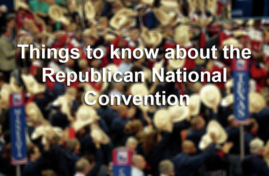 The Republican National Convention starts July 18, 2016. Click through the slideshow to find out what you need to know about the RNC. Photo: Andrew Harrer/Bloomberg