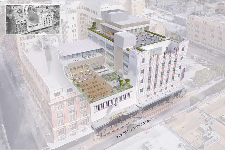 Graystreet plans retail and office renovation in houston for Retail building plans