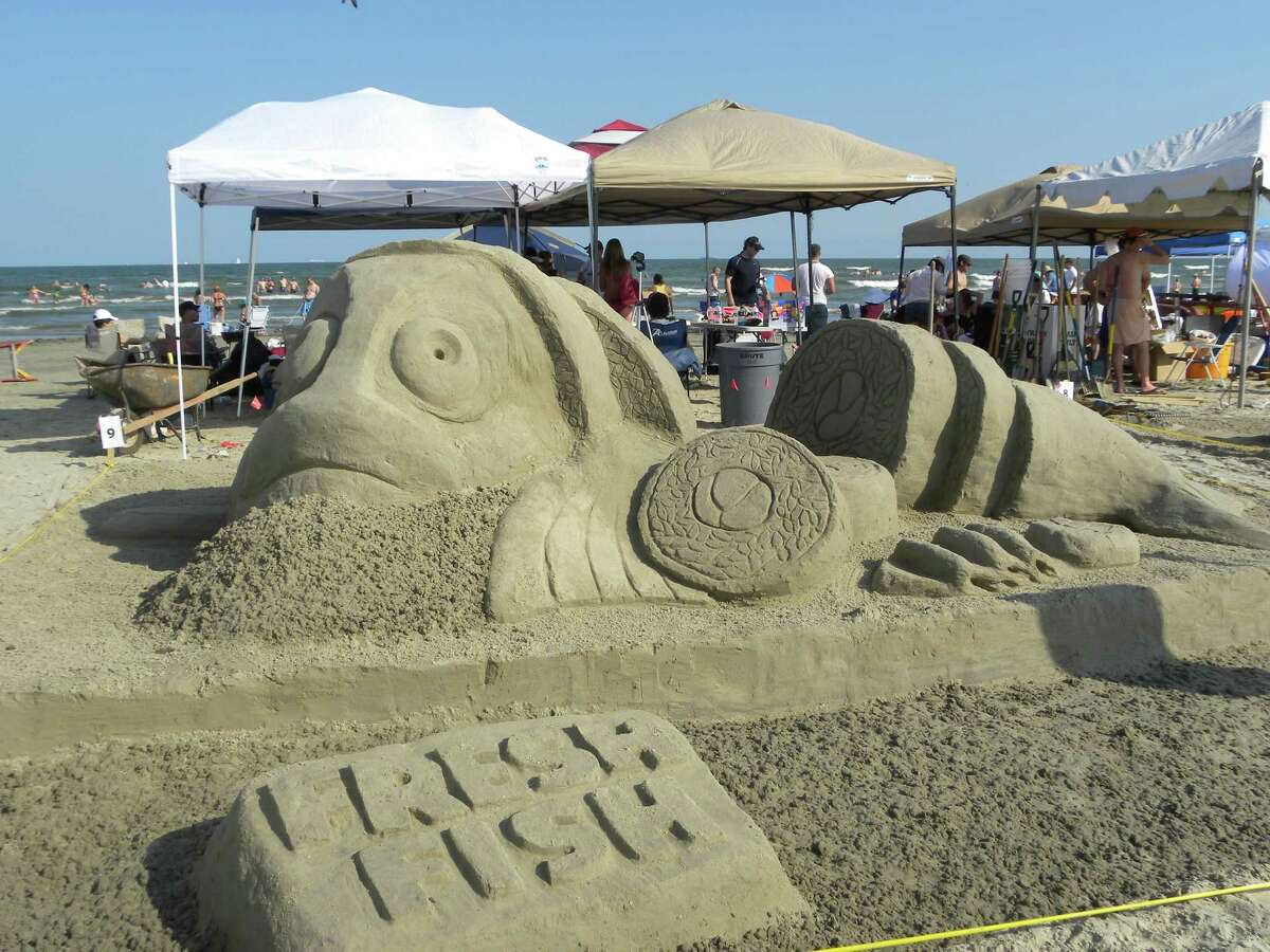 9. East Beach East Beach in Galveston is home to an annual sandcastle contest that brings out elaborate designs.