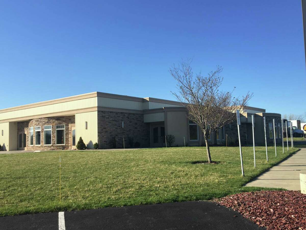 The International Union of Operating Engineers in Glenmont would like to expand their crane training facility by buying land and a banquet hall owned by the Cyprus Shriners.