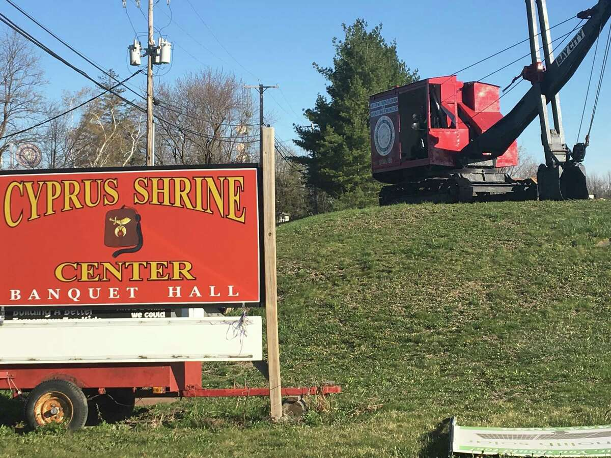 The International Union of Operating Engineers in Glenmont is planning to buy the Cyprus Shrine in Glenmont to expand its crane training facility next door.