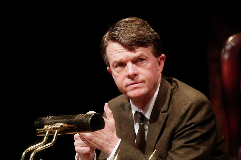 """Joel Sandel as RFK in Main Stage Theater's production of """"RFK: A Portrait of Robert F. Kennedy."""" Photo: Photos By Pin Lim / Forest Photography / Copyright Forest Photography, 2015."""
