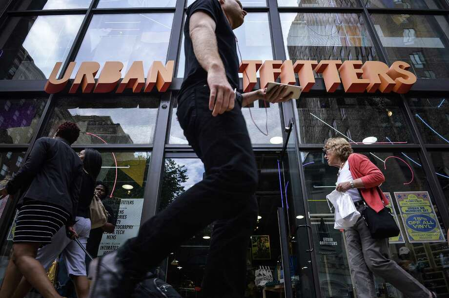 Urban Outfitters Inc., which has a history selling controversial items, is violating the unwritten rule of retail — never get political — by offering a range of merchandise bashing Donald Trump, the presumptive Republican nominee. Photo: Charles Mostoller /Bloomberg News / © 2016 Bloomberg Finance LP