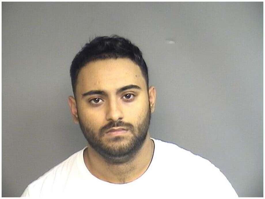Angelo Bimbo, 21, of Norwalk, was charged with stealing almost $16,000 from an elderly Stamford woman durning a home improvement scam last fall. Photo: Stamford Police / Contributed
