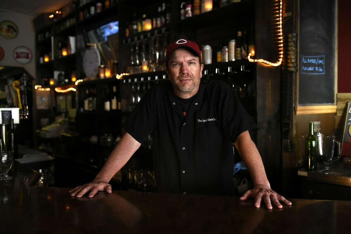 Dark Horse Inn owner Sean Ingram on Saturday, July 16, 2016 at Dark Horse Inn in San Francisco, California.