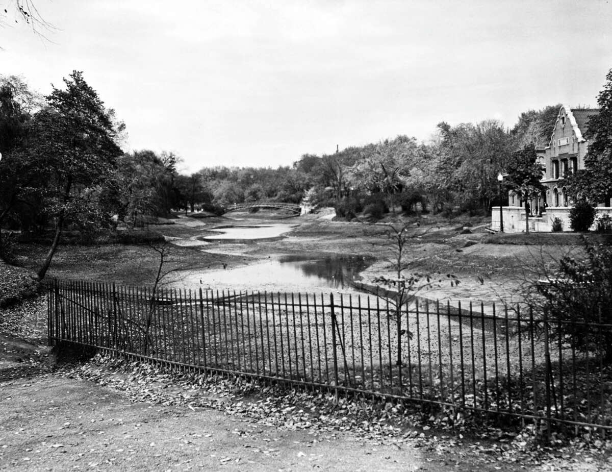 1937: The lake at Washington Park, Oct.22, 1937, in Albany, N.Y.
