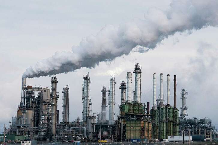 An Andeavor refinery in Washington. The company announced Monday it was buying four asphalt terminals from Delek U.S. Holdings, Inc., for $75 million.