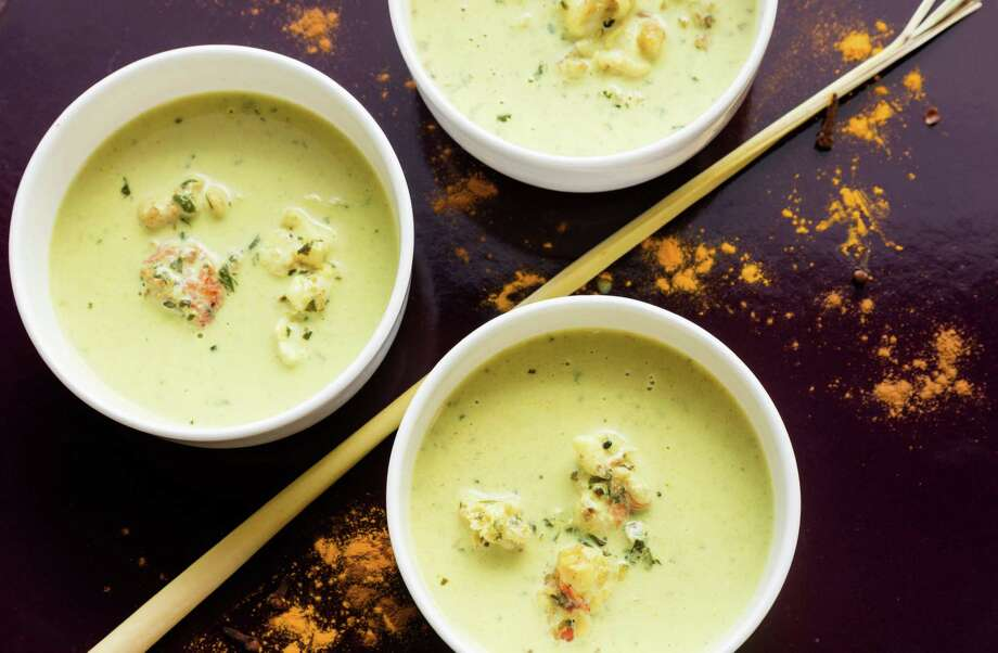 Coconut Milk Soup With Lobster's spice combination yields big, aromatic flavor. Recipe, page D5 Photo: Goran Kosanovic / For The Washington Post