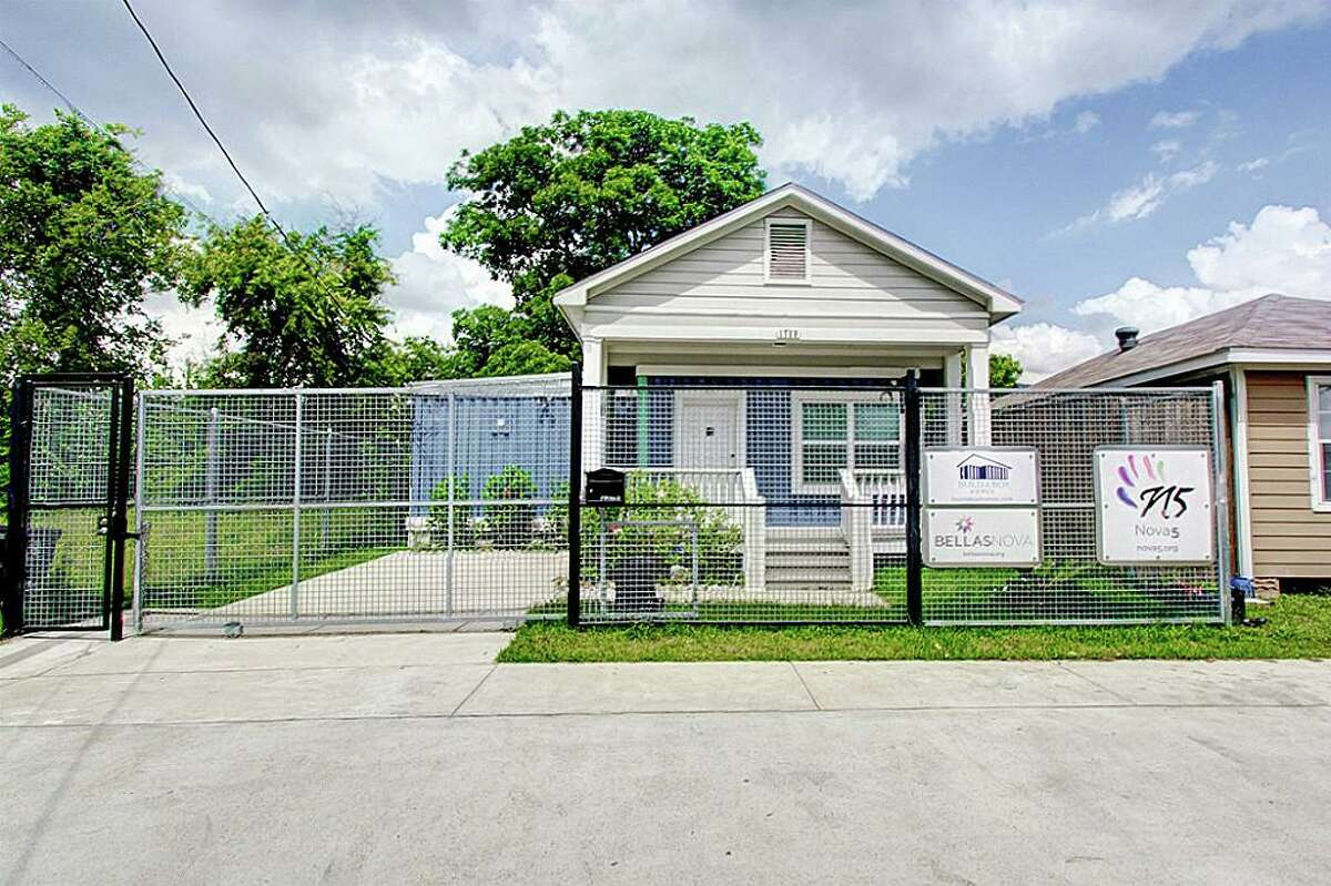 This Build-A-Box home is currently on the market. It offers a glimpse of how the upcoming Fifth Ward complex will look.