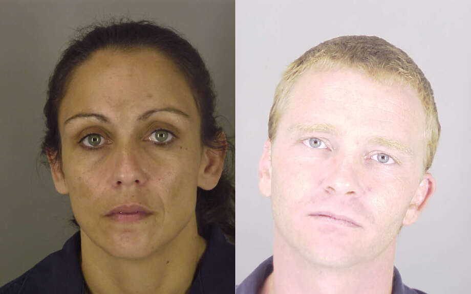 Tiffany Boudreaux and Jason Loupe turned themselves in on Sunday, July 17 on accusations of identity theft of an elderly woman. Photo: Jefferson County Sheriff's Office