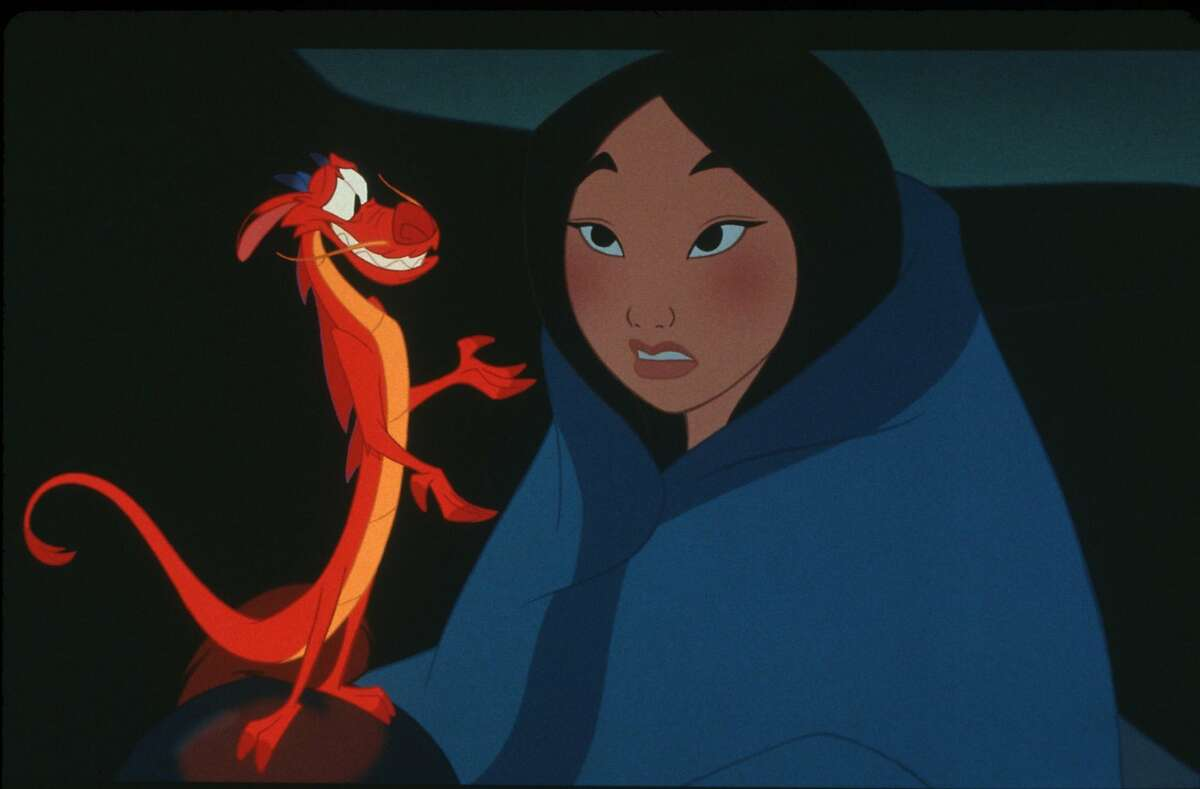 Maybe if Mulan had listened to her male dragon friend, she wouldn't have been in this position to begin with!
