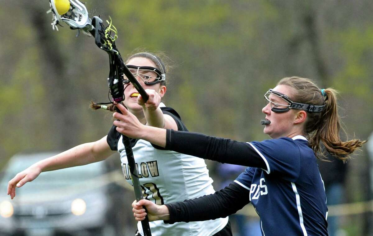 Barlow's Emma Gallagher, left, led the Falcons to the SWC Division I championship and the Class M title game.