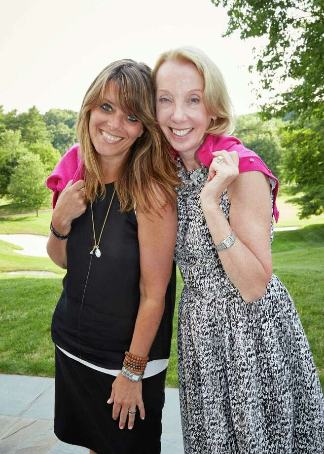 Breast Cancer Alliance Executive Director Yonni Wattenmaker, left, and BCA Board of Directors President Sharon Phillips attend a fundraiser for the organization July 12 at the Glen Arbor Golf Club in Bedford Hills, N.Y. Photo: / Contributed Photo