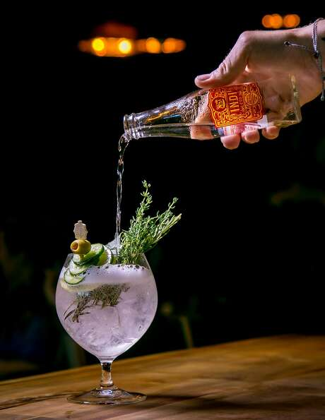 The Earth Gin & Tonic at Bellota in San Francisco, Calif. is seen on July 15th, 2016. Photo: John Storey, Special To The Chronicle