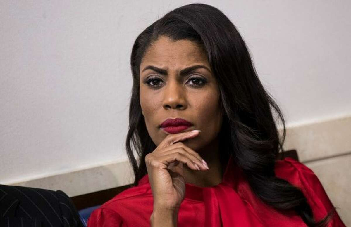 RELAXING: Omarosa Manigault Newman parties at Texas restaurant Former White House employee,Newmantook a break from her book tour to celebrate a friend's birthday and party at the Daiquiri Shoppe in Grand Prairie, Texas.