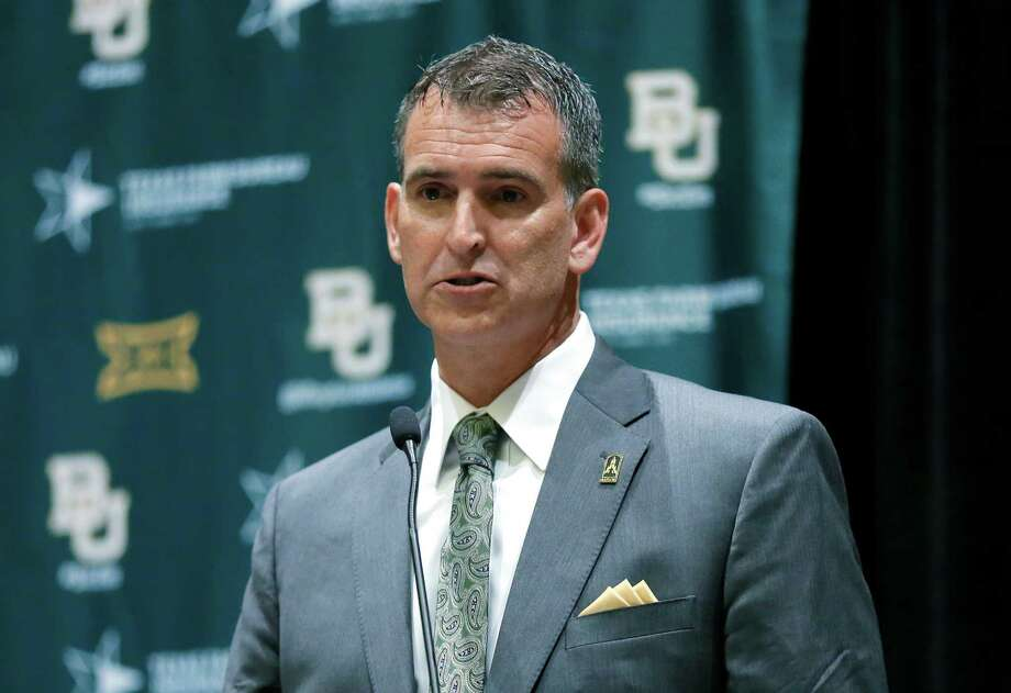 """Incoming Baylor athletic director Mack Rhoades said he couldn't resist the """"opportunity to help lead one of the world's leading Christian universities."""" Photo: Tony Gutierrez, STF / Ap"""
