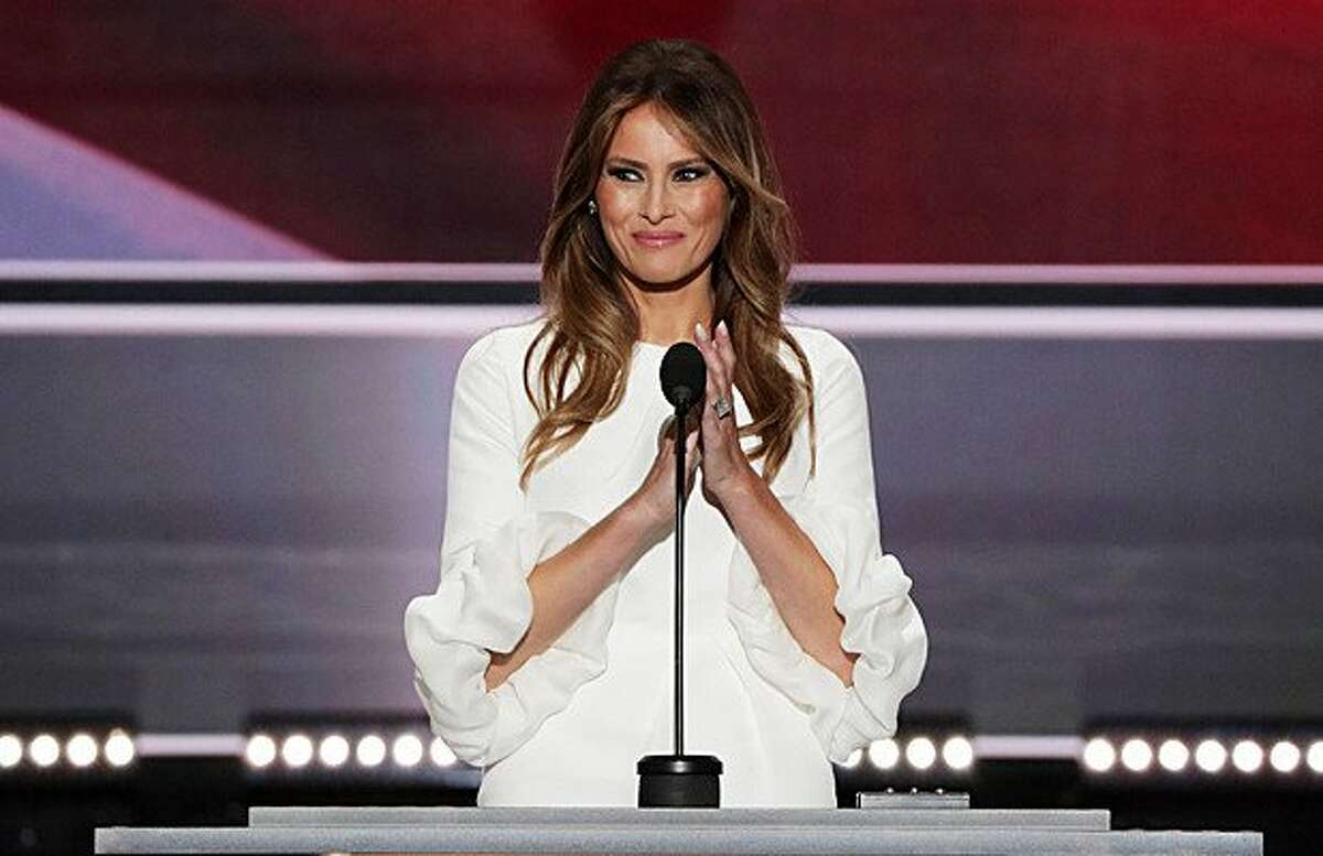 2. After her speech, it was discovered that a section of Melania Trump's address matched nearly word-for-word with a portion of the speech that first lady Michelle Obama delivered in 2008 at the Democratic National Convention.