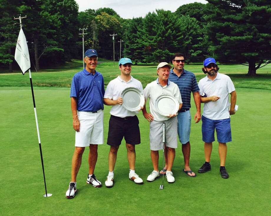 Action from the Longshore Men's Golf Association's annual Luke Pape Member-Guest tournament held last weekend. Photo: Contributed Photo / Westport News Contributed