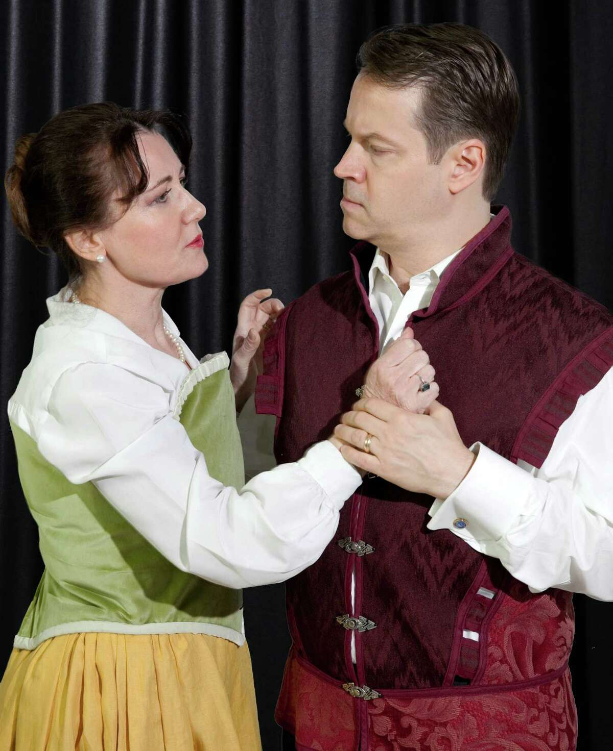 Alison Murphy and Mark E. Lane star in