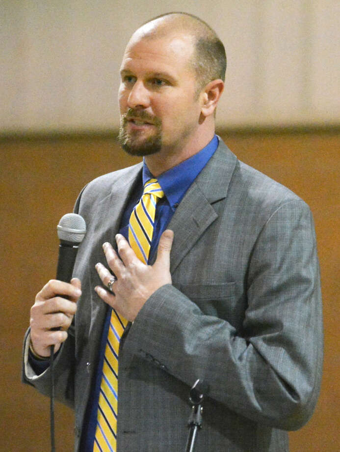 Andy Ellis took the helm as Plainview Christian Academy's athletic director in 2015. Photo: Skip Leon/Plainview Herald