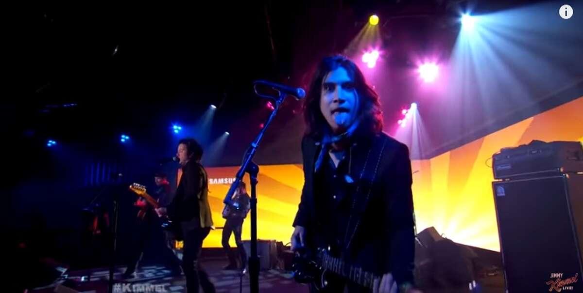 San Antonio-based band, The Last Bandoleros, performed on Jimmy Kimmel Live July 19, 2016.