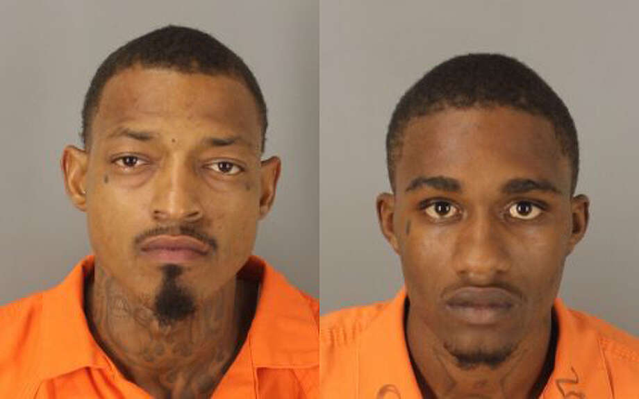 Tory Stelly, 21, and Zachary Cortez, 26, were taken into custody on Monday, July 18 on three counts of aggravated robbery. Photo: City Of Beaumont