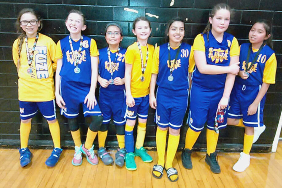 The Fuze won the silver medal at a girls basketball tournament in Lubbock over the weekend. Photo: Courtesy Photo