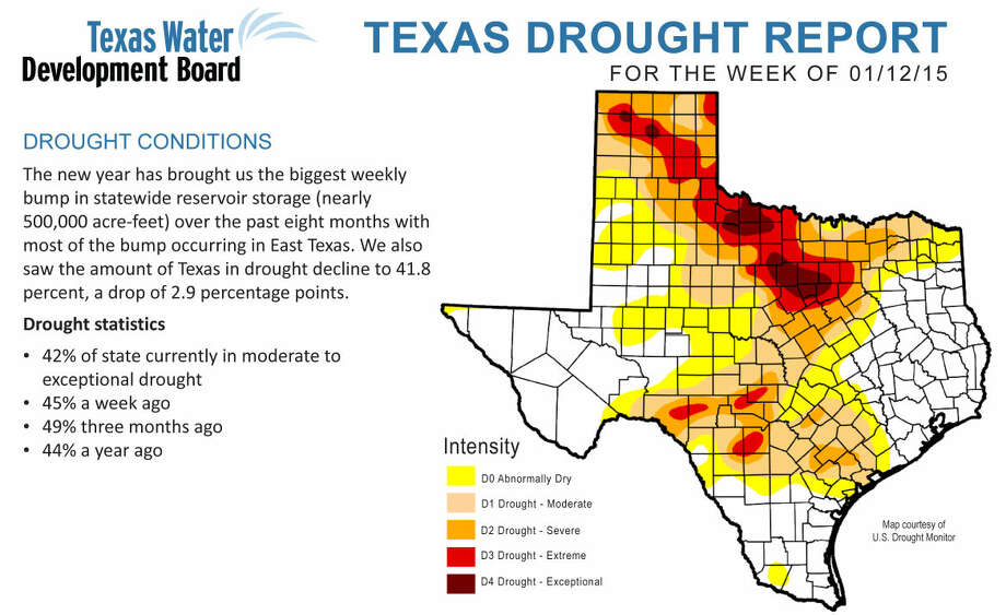 Texas Drought Map Soil moisture slowing improving   Plainview Daily Herald Texas Drought Map