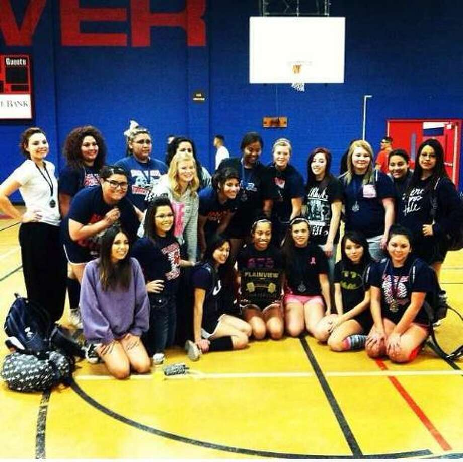 The Plainview girls powerlifting team ran away with the team championship at the Plainview Invitational Powerlifting Meet at Coronado Junior High Saturday. Photo: Courtesy Photo