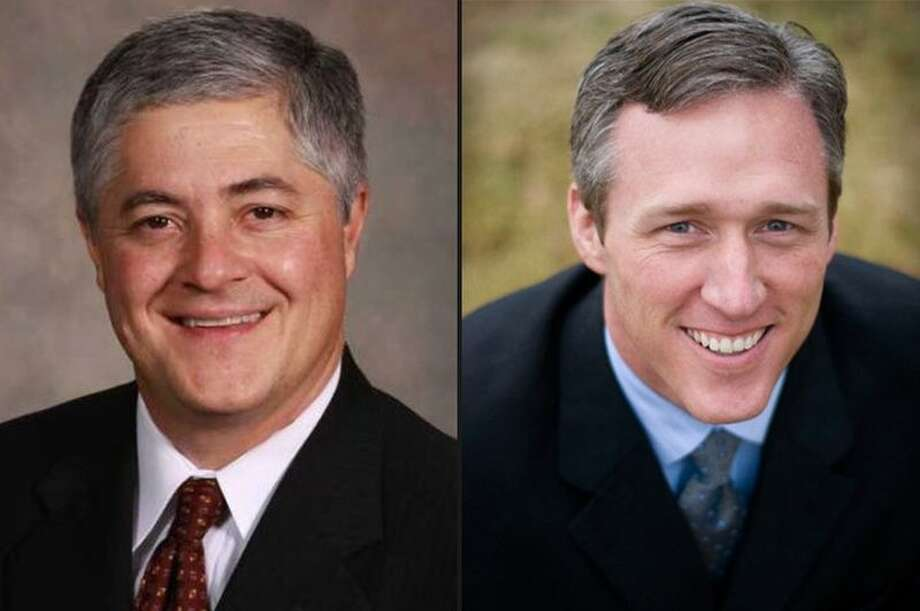From The Texas Tribune State Rep. John Frullo (left) of Lubbock faces former State Rep. Jim Landtroop (right) in the Republican primary.