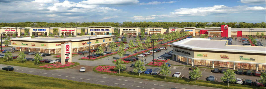 The Grand Parkway Marketplace, a 450,000-square-foot center, to be anchored by Target Corp., is        expected to open in a year.