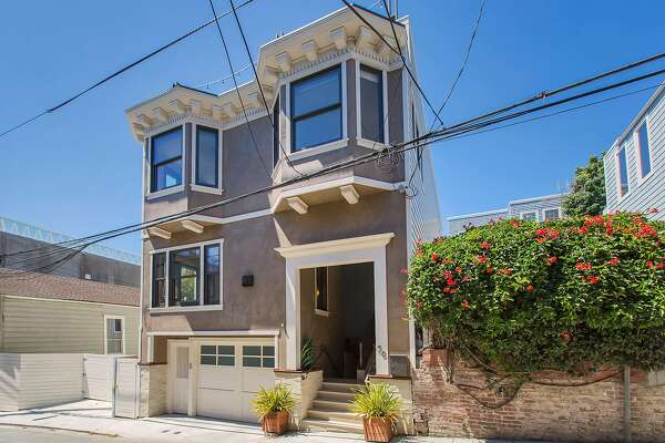 58 Wilmot St. in Lower Pacific Heights was built in 2012, embracing Edwardian style to match its surroundings.