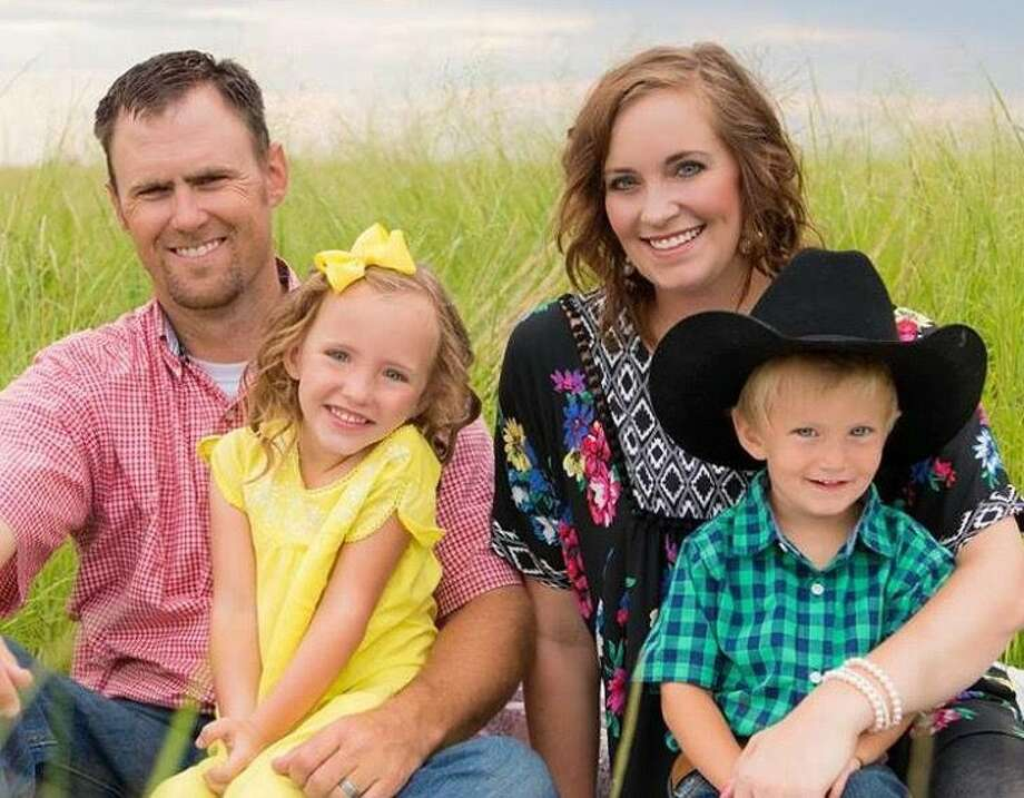 Featured in this week's Farmer Friday spotlight is Hale and Floyd County producer Garrett Mathis along with wife Lindsie and children Evelyn and Brody.Mathis hears calling of the land Photo: Courtesy Photo